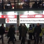 Champions' League 2013/14 Second Round 1st Leg v Arsenal, Emirates Stadium, London