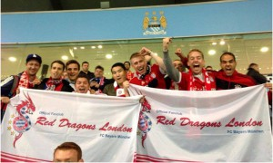 The Red Dragons on their first tour at Manchester City's Etihad Stadium