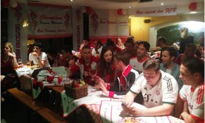 The Red Dragons are back at their London Stammtisch to see a 2-0 cup final win over Dortmund