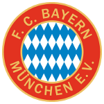 The FC Bayern crest between 1970 and 1979