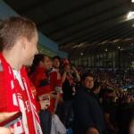 Champions' League 2013/14 Group Phase Match v Manchester City, Etihad Stadium, Manchester
