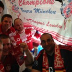 Champions' League 2013/14 Quarter-Final 1st Leg v Manchester United, Old Trafford, Manchester
